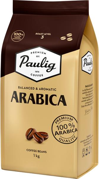 Кофе в зернах Paulig Arabica Finland 1 кг Розница
