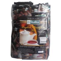 Черный чай Qualitea Английский завтрак 100 пакетов