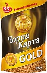 Растворимый кофе Черная карта Gold 190 г