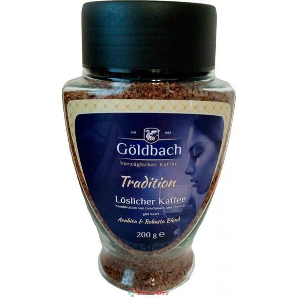 Растворимый кофе Goldbach Tradition банка 200 г