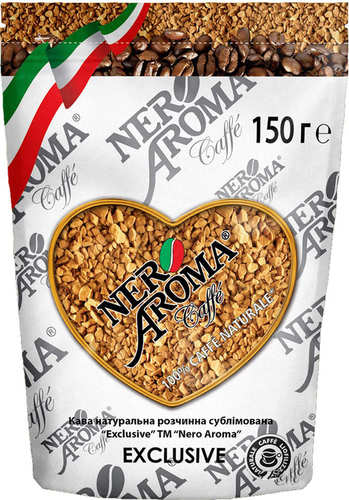 Растворимый кофе Nero Aroma Exclusive 150 г