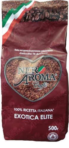 Растворимый кофе Nero Aroma Exotica Elite 500 г