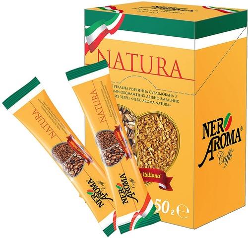 Растворимый кофе Nero Aroma Natura в стиках 50 г