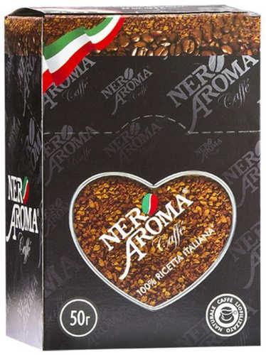 Растворимый кофе Nero Aroma в стиках 50 г