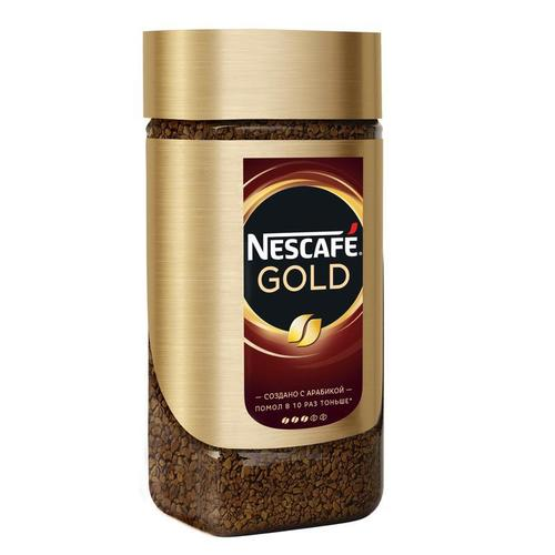 Растворимый кофе Nescafe Gold стекло 200 г