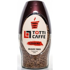 Растворимый кофе Totti Caffe Leggero стекло 95 г