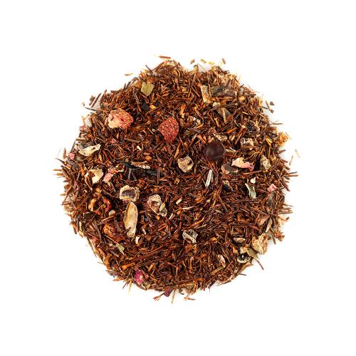 Травяной чай Palmira Ройбуш клубничный 10 шт по 4 г Для чайника