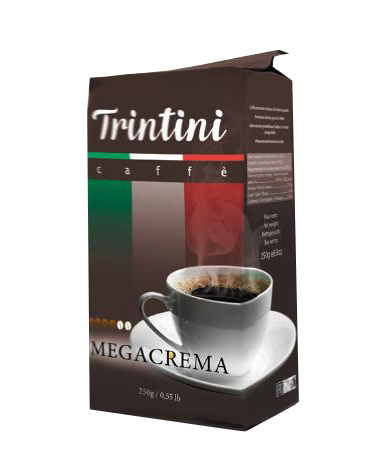 Молотый кофе Trintini Megacrema 250 г