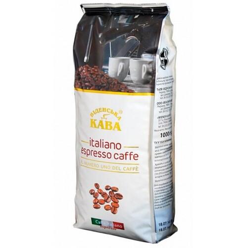Кофе в зернах Віденська кава Italiano Espresso Coffee 1 кг