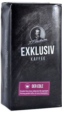 Молотый кофе J.J.Darboven Exklusiv kaffee der Edle 250 г