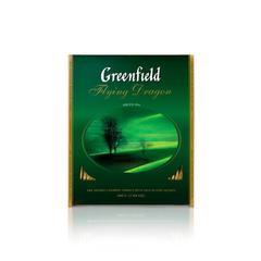 Зеленый чайGreenfieldFlyingDragon 100 пакетов по 2 г