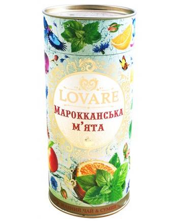 Зеленый чай Lovare Марокканская мята 80 г