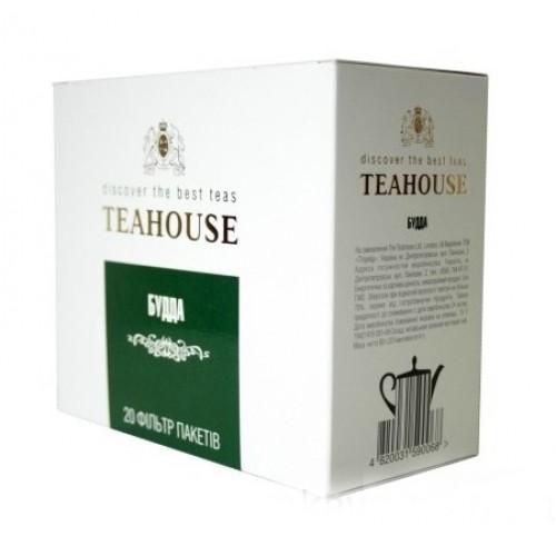 Зеленый чай Teahouse Будда 20 пакетиков