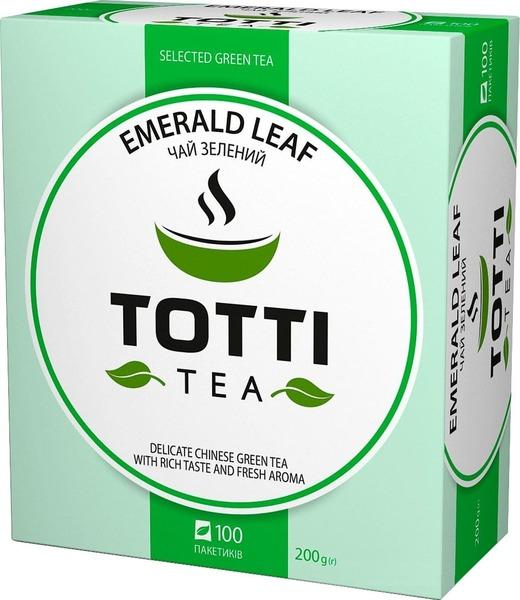 Зеленый чай Totti Emerlald Leaf 100  пакетиков 200 г