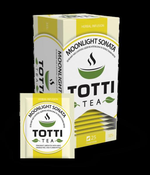Зеленый чай Totti Moonlight Sonata 25 пакетиков 37.5 г